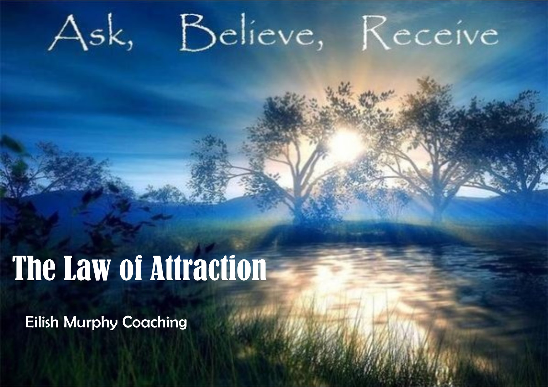 the law of attraction talk image